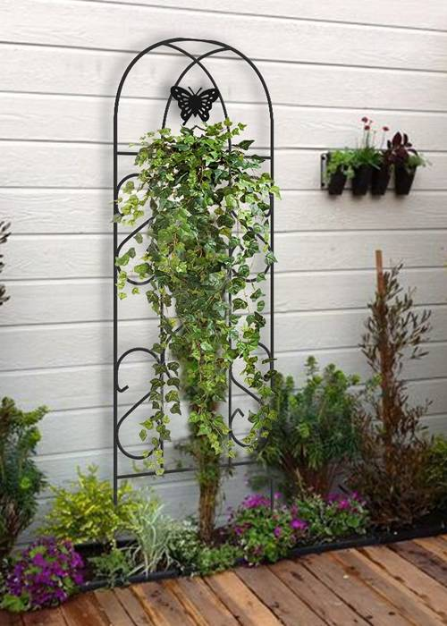 Metal Garden Trellis Keep Vine Plants Amp Flowers Off The Ground