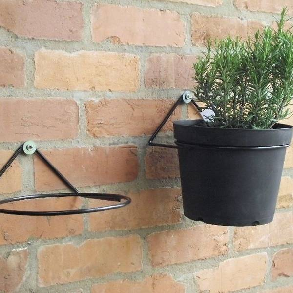 Garden Hanging Plant Pot Holder For Balcony And Terrace